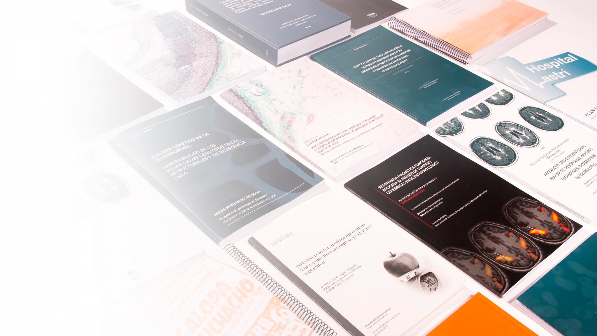 Tesis doctorals dissenyades i maquetades per Anna Morera