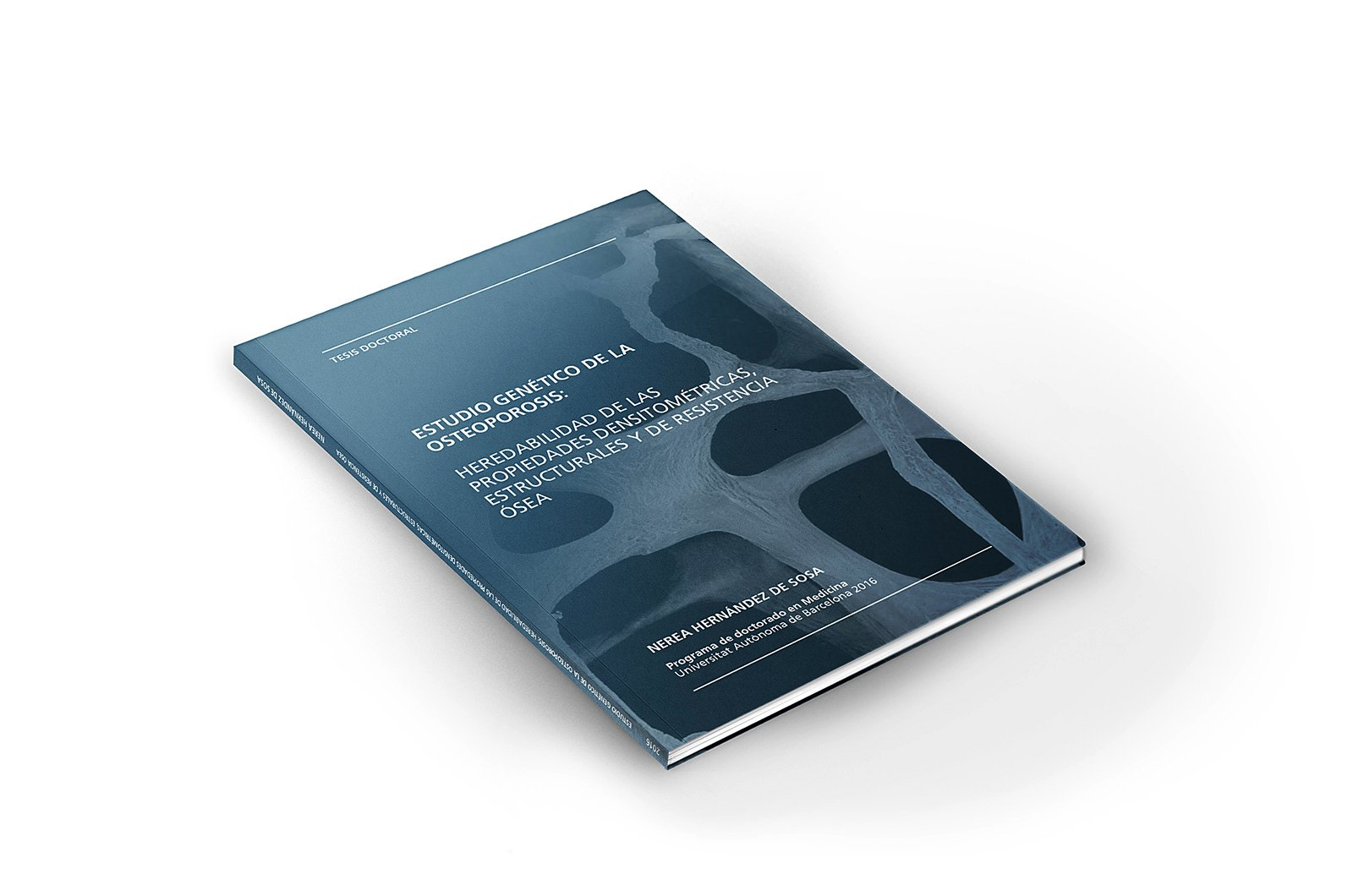 Portada de tesi doctoral de N. Hernández de Sosa