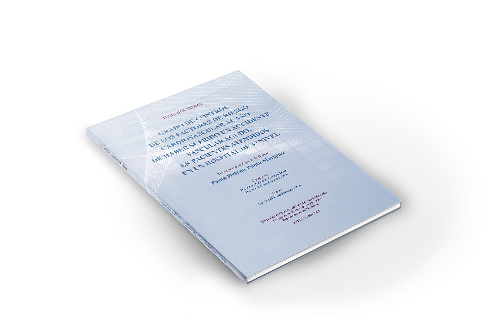 portada tesi doctoral de P. Ponte